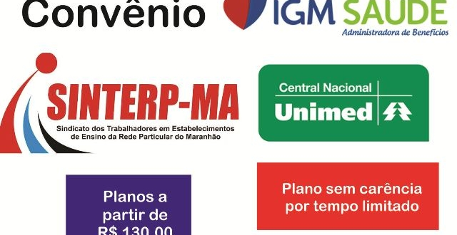Sinterp-MA oferece convênio para plano Unimed sem carência